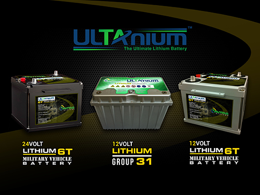 Navitas Systems Ultanium Lithium Lead Acid Replacement Product Family