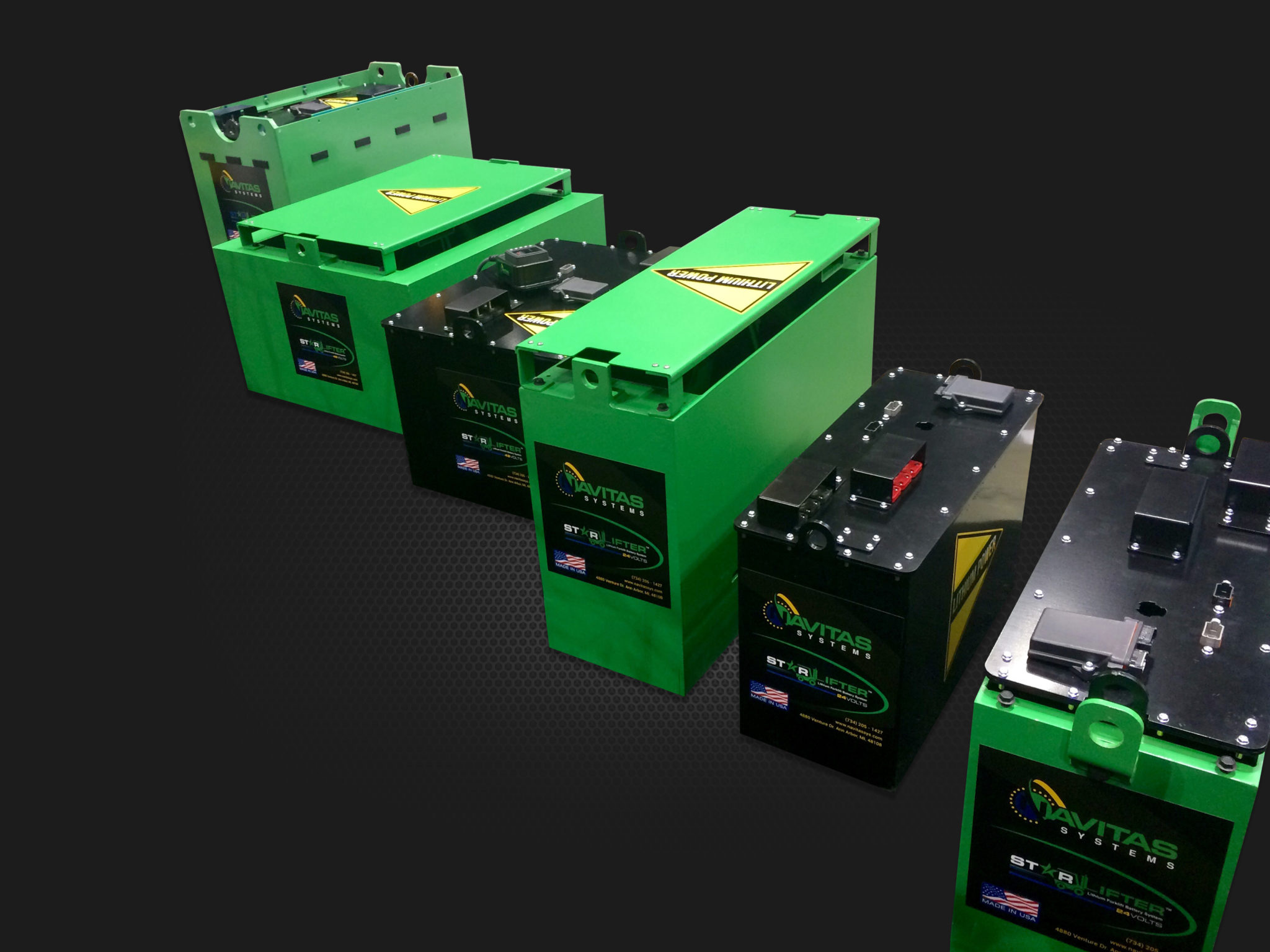 Lithium Motive Battery Systems | Navitas Systems