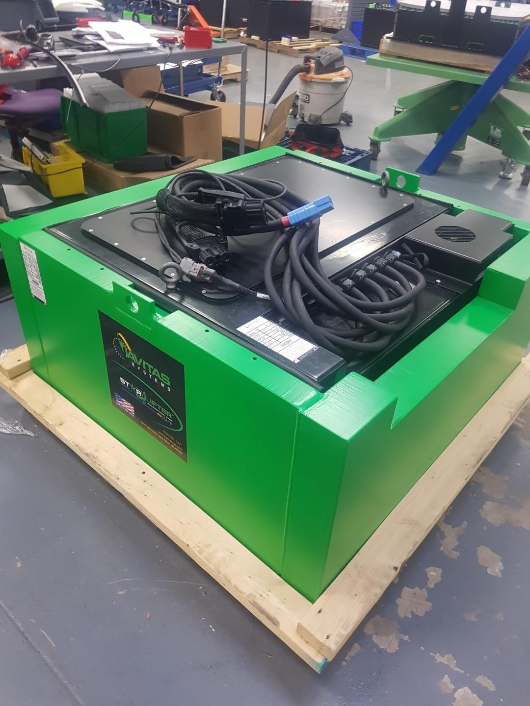 Lithium Motive Battery Systems Navitas Systems